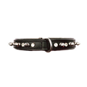 Rebel Dog Collar Black