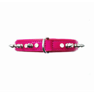 Punk Princess Dog Collar Pink