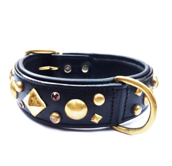 Rockstar Dog Collar Black