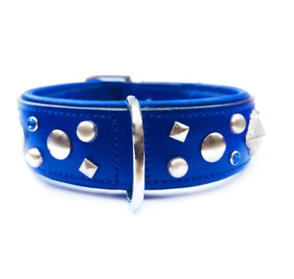 Rockstar Dog Collar Blue