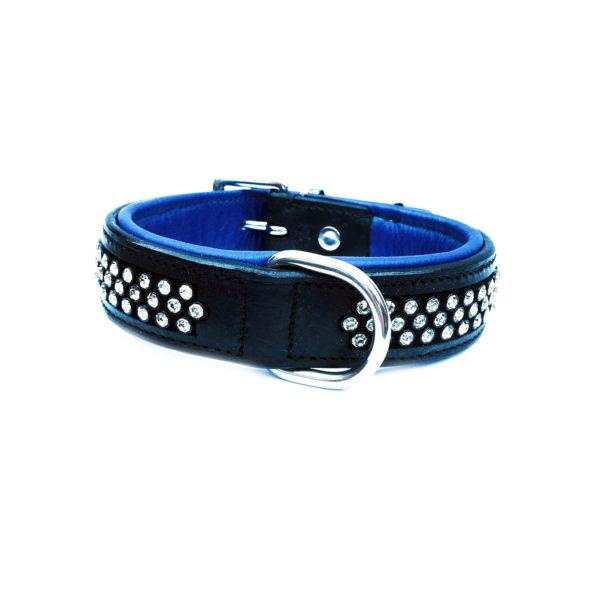 Flasher Dog Collar Blue 1