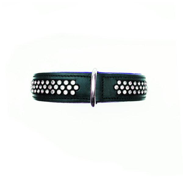 Flasher Dog Collar Blue 2