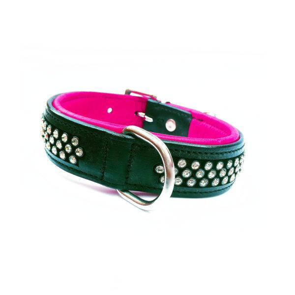 Flasher Dog Collar Pink 1