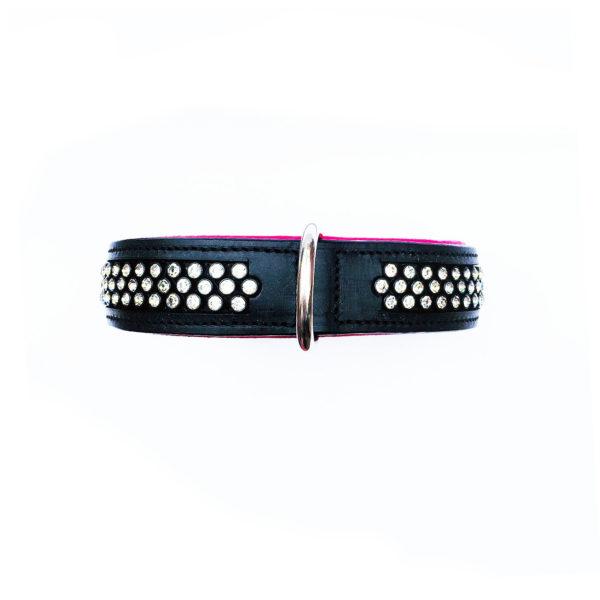 Flasher Dog Collar Pink 2