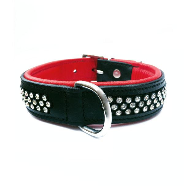 Flasher Dog Collar Red 1