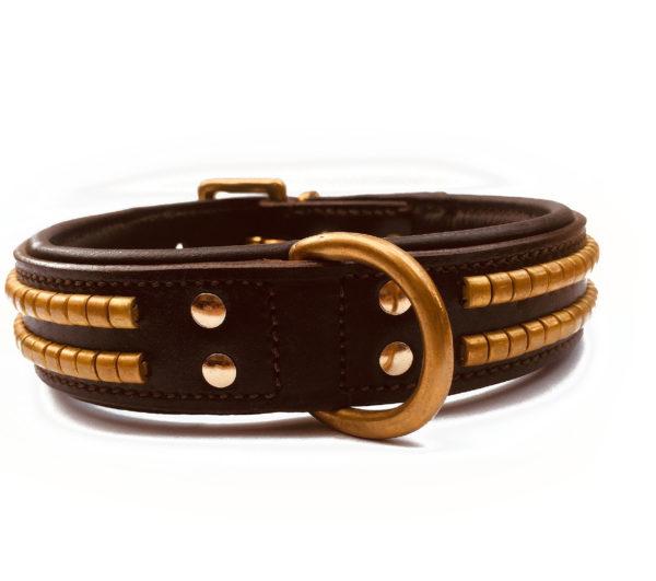 Player Dog Collar Brown 1