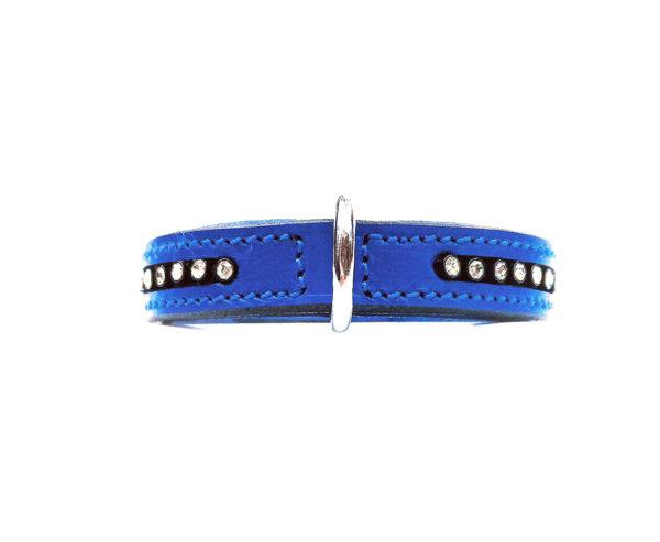 Bougie Dog Collar Blue