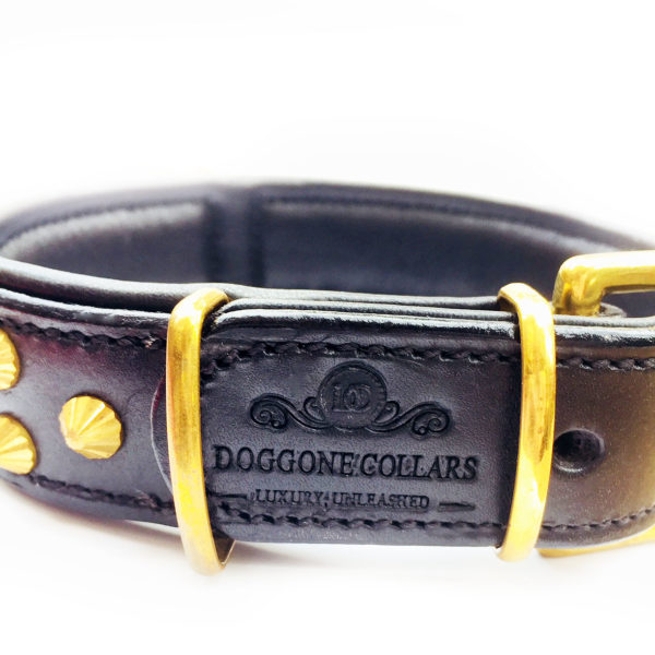 Ranger Dog Collar Black Logo