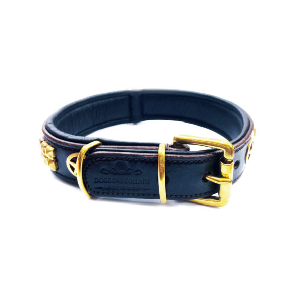 Sheriff Dog Collar Black 2